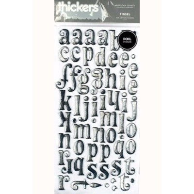 Foil Thickers - Tinsel (Silver)