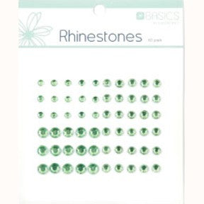 Rhinestones - Light Green