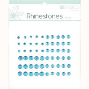 Rhinestones - Light Blue