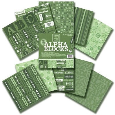 Alpha Block (8x8) - The Greatest Green