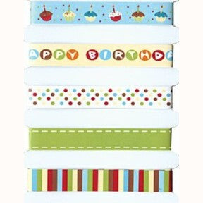 Adhesive Ribbon - Birthday