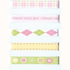 Adhesive Ribbon - Baby Girl