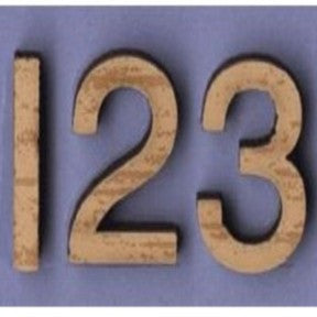 Playful Numbers - Antique Ivory