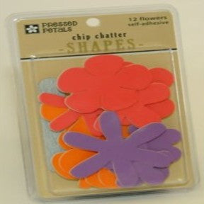 Chip Chatter Flowers (Orange/Coral/ Purple)
