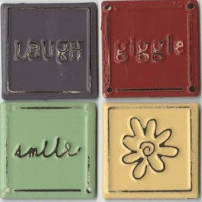 Metal Squares - Laugh, Giggle, Smile