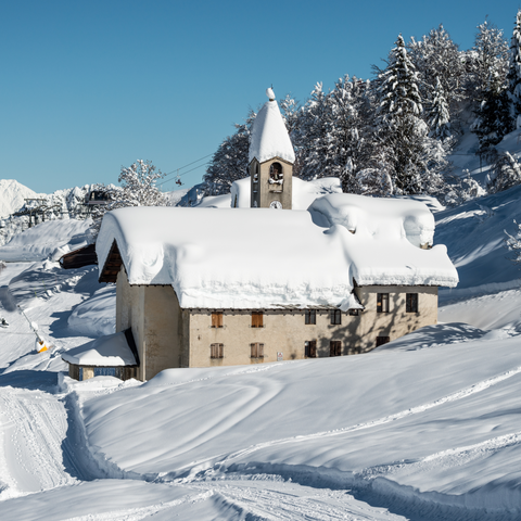 Snow in Italy