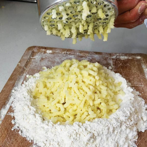 Complete Guide to Making Gnocchi at Home - pasta evangelists - ricing potato