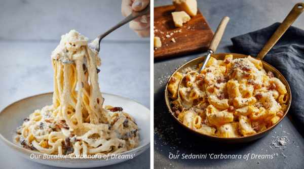 Pasta Evangelist carbonara options