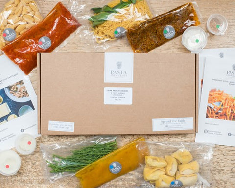 Pasta Evangelists | what's in the box