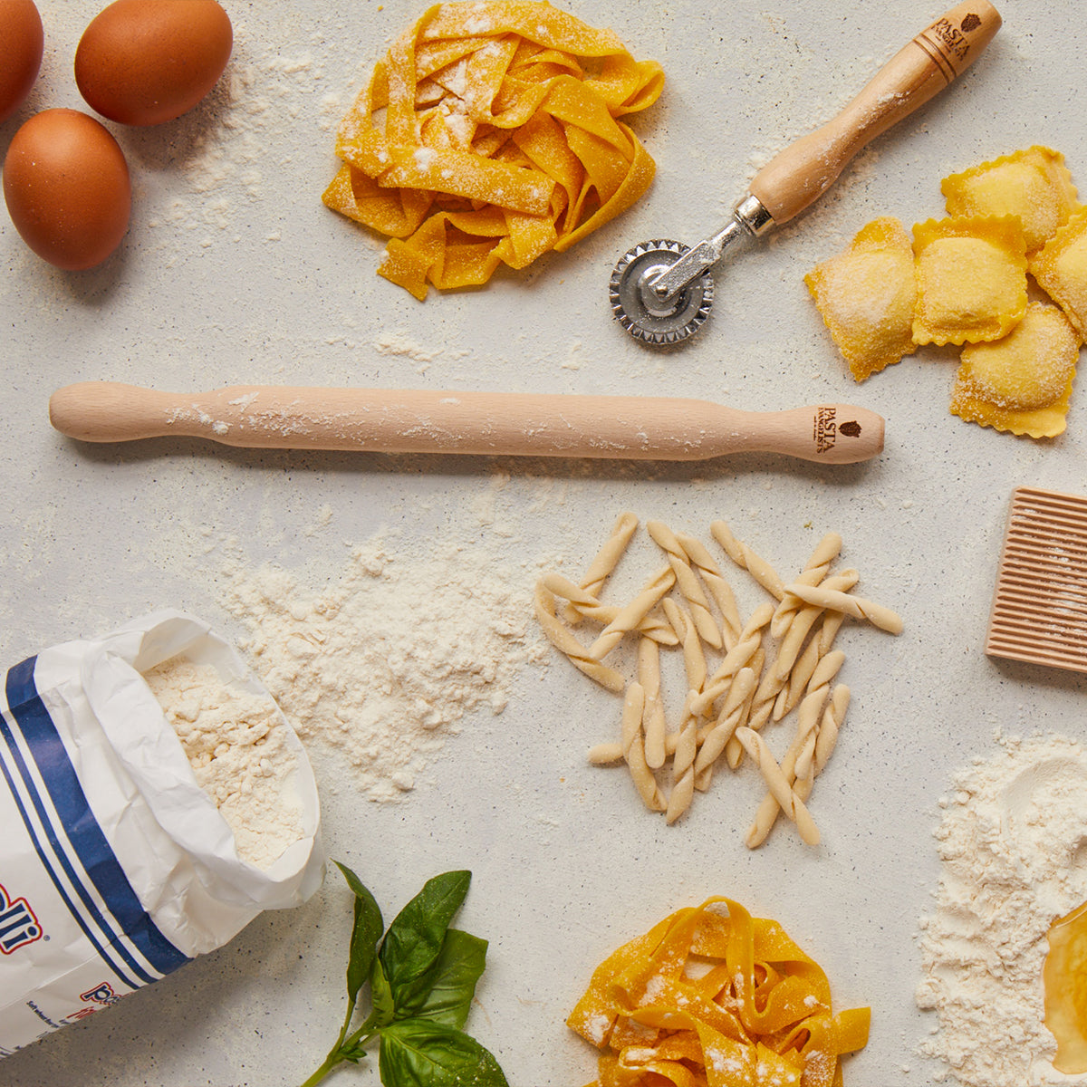 Tools you need to make pasta from scratch