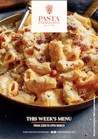 Front cover of recipes book for Week commencing 23rd March 2020