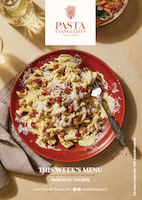 Front cover of recipes book for Week commencing 6th April 2020
