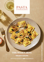 Front cover of recipes book for Week commencing 20th April 2020
