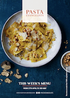 Front cover of recipes book for Week commencing 27th April 2020