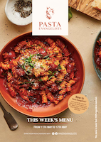 Front cover of recipes book for Week commencing 11th May 2020