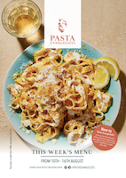 Front cover of recipes book for Week commencing 10th Aug 2020