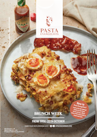 Front cover of recipes book for Week commencing 19th Oct 2020