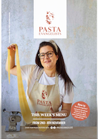 Front cover of recipes book for Week commencing 2nd Nov 2020