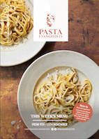 Front cover of recipes book for Week commencing 9th Nov 2020