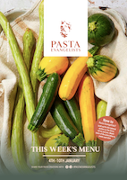 Front cover of recipes book for Week commencing 4th Jan 2021