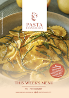 Front cover of recipes book for Week commencing 1st Feb 2021