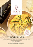 Menu Week Commencing 8th March 2021
