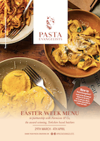 Menu cover week commencing 29th March 2021