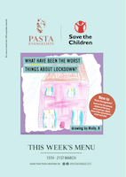Menu Cover Week Commencing 15th March 2021