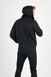 King Size Blank Basics - Plus Size Unprinted Bonded Polar Hi Neck Hoodies - Chaotic Clothing