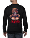 Bad Teddy Crew Neck Jumper - Crew neck Jumper - Chaotic Clothing Streetwear Sydney Australia Street Style Plus Menswear