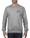 Peace out Crew Neck Jumper - Crew neck Jumper - Chaotic Clothing Streetwear Sydney Australia Street Style Plus Menswear