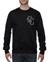 Sword Skull Crew Neck Jumper
