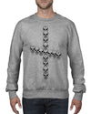 Faithful Skull Crew Neck Jumper - Crew neck Jumper - Chaotic Clothing Streetwear Sydney Australia Street Style Plus Menswear