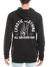 Peace Out Hoodie - Chaotic Clothing