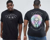 Big Chief - Chaotic King Size Tshirt 2XL to 7XL -  - Chaotic Clothing Streetwear Sydney Australia Street Style Plus Menswear