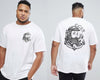 The Captain - Chaotic King Size Tshirt 3XL to 7XL -  - Chaotic Clothing Streetwear Sydney Australia Street Style Plus Menswear