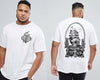 Ships & Roses - Chaotic King Size Tshirt 3XL to 7XL -  - Chaotic Clothing Streetwear Sydney Australia Street Style Plus Menswear