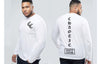 Custom King Size Long Sleeve Tee -  - Chaotic Clothing Streetwear Sydney Australia Street Style Plus Menswear