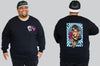 Ace of Spades Chaotic King Size Crew Neck Jumper 2Xl - 5XL -  - Chaotic Clothing Streetwear Sydney Australia Street Style Plus Menswear