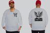 Angel King Size Crew neck Jumper -  - Chaotic Clothing Streetwear Sydney Australia Street Style Plus Menswear