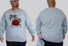 Beach Please  King Size Crew neck Jumper -  - Chaotic Clothing Streetwear Sydney Australia Street Style Plus Menswear