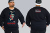 Vote for Carlton 2020 Chaotic King Size Crew Neck Jumper 2Xl - 5XL