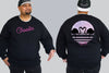 Fly Life King Size Crew neck Jumper