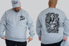 Graff Tattoo King Size Crew neck Jumper - Chaotic Clothing