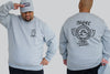 Keeping It Real Dope Fingers Crew Neck Jumper | Chaotic King Size Streetwear & Plus Mens