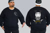 Skull Sword King Size Crew neck Jumper