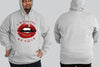 Lips - Chaos King Size Hoodie - Chaotic Clothing