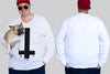 Bleeding Cross Chaotic Clothing KING SIZE Long Sleeve Tshirt 3XL - 5XL -  - Chaotic Clothing Streetwear Sydney Australia Street Style Plus Menswear