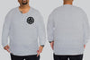 Circle Star Chaotic KING Size Long Sleeve Tee -  - Chaotic Clothing Streetwear Sydney Australia Street Style Plus Menswear