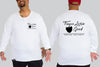 Finger Lickin Good Long Sleeve Tee I Chaotic KING Size Streetwear I 2xl to 9xl Plus